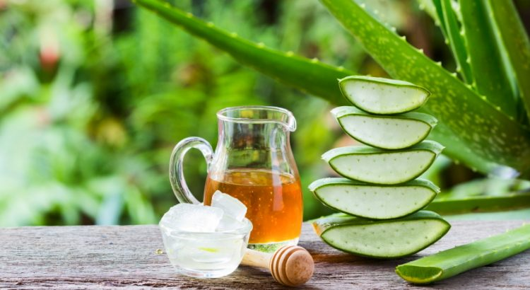 Aloe vera and honey hair mask recipe